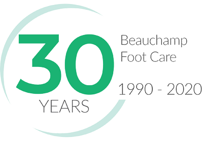 Beauchump 25 years color logo