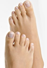 Pedicure Feet - Beauchamp Foot Care